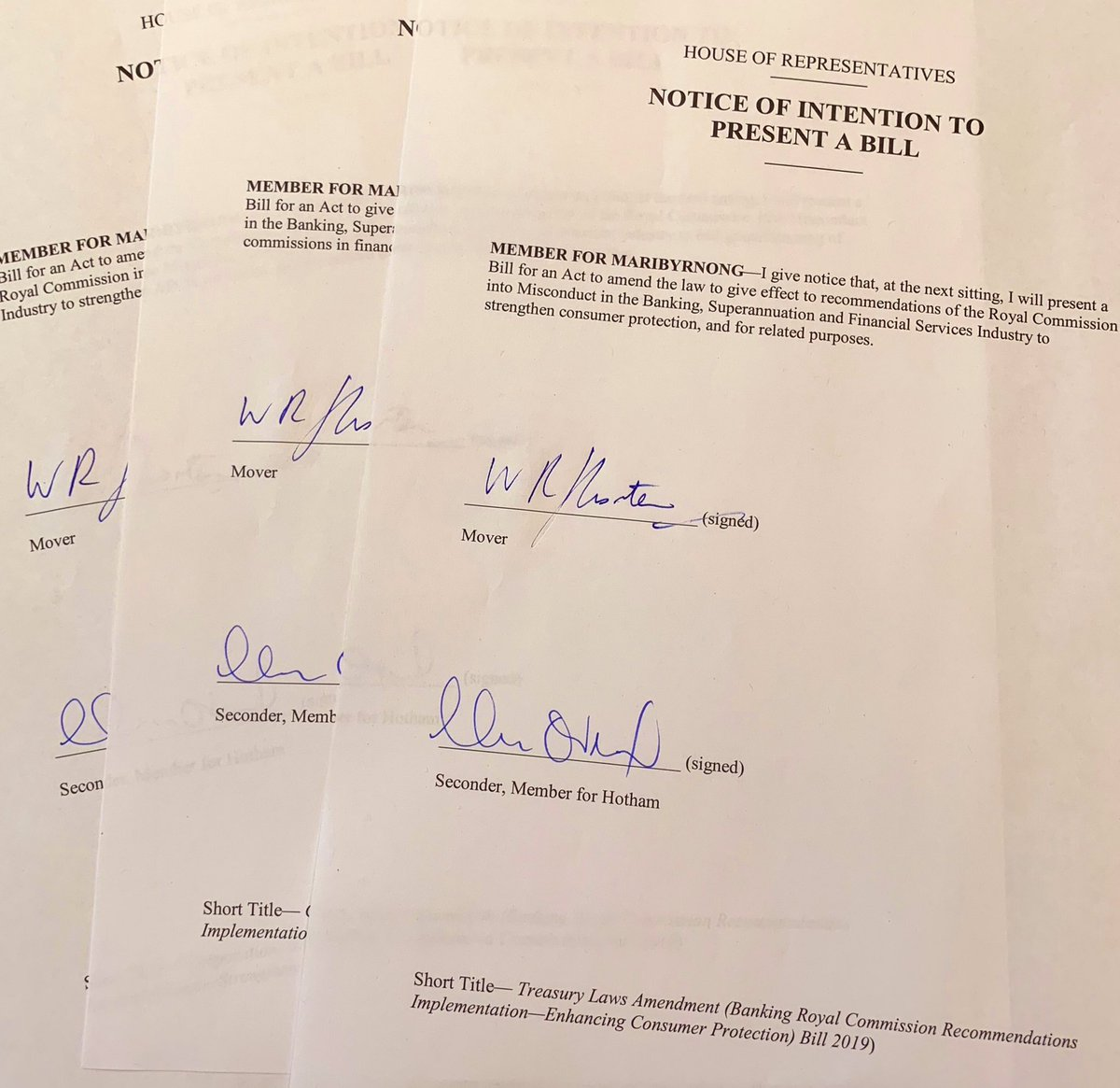 Both Parties Respond To Banking Royal Commission Recommendations