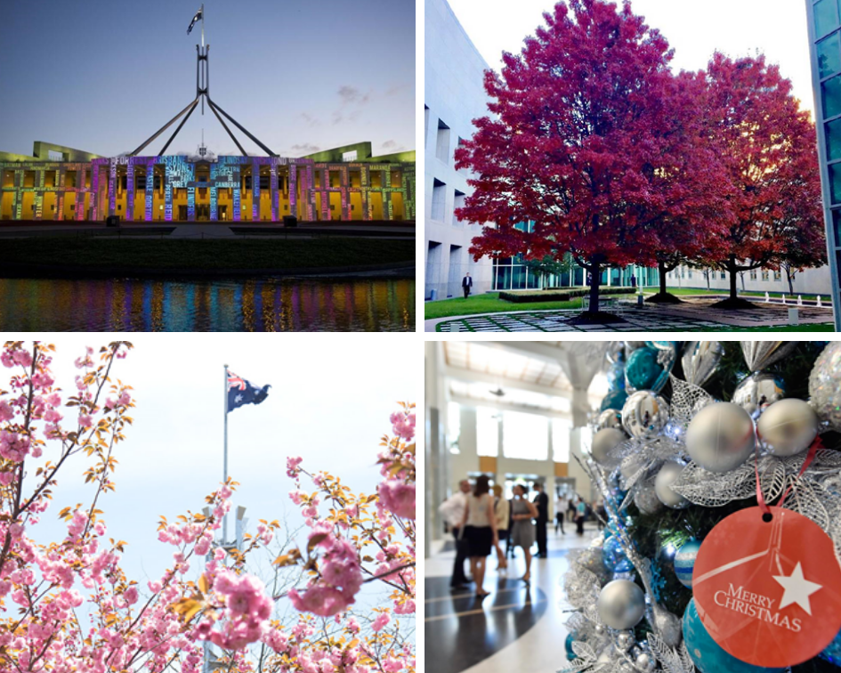 THE FOUR SEASONS OF PARLIAMENTARY SITTINGS